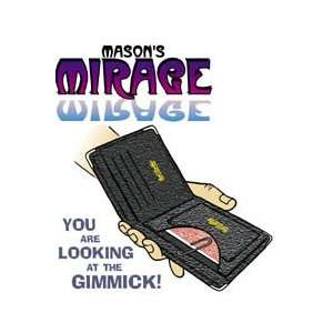 Mirage Wallet Masons JB Street Magic Trick Card Visual