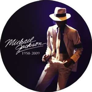 MICHAEL JACKSON SMOOTH CRIMINAL BUTTON