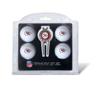 BSS   Kansas City Chiefs NFL 4 Ball/Divot Tool Set