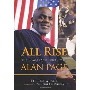 The Remarkable Journey of Alan Page [Hardcover] Bill McGrane Books