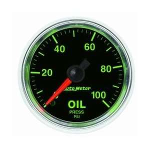 Auto Meter 3821 GS Mechanical Oil Pressure Gauge