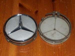 Chrome Star Mercedes Benz Wheel Center Cap 220 400 0125