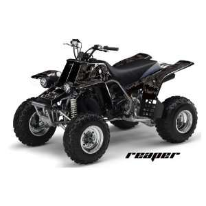 AMR Racing Yamaha Banshee 350 ATV Quad Graphic Kit   Reaper Black