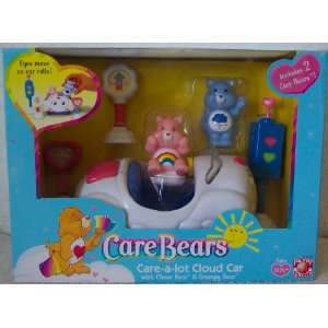 Bears Care a Lot Cloud Car with Cheer Bear & Grumpy Bear Toys & Games