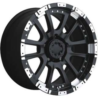 16x8 Black Wheel Advanti Racing Roccia 5x5.5
