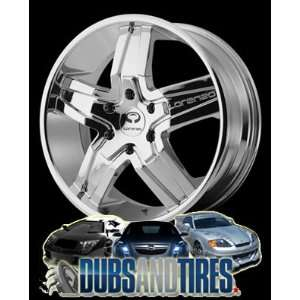 22 Inch 22x9 LORENZO wheels WL30 Chrome wheels rims Automotive