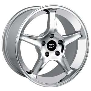 Detroit Style 830 (Chrome) Wheels/Rims 5x114.3 (830 7965C) Automotive