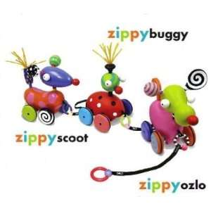 Zolo Kushies Zippy Buggy Wooden Pull Toy (80020) Toys & Games