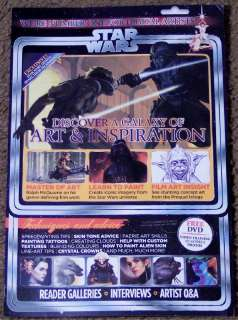 Sci Fi + DVD October 2011 ART Of STAR WARS Characters & Creatures NEW