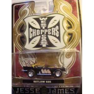 West Coast Choppers  Jesse James Outlaw 666 Rubber mags