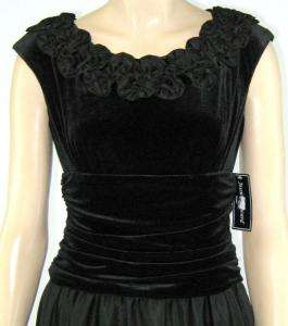 JESSICA HOWARD Womens Occasion Black Dress Sz 6 New 5543