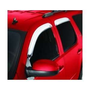 Ventshade 684233 Window Chrome Ventvisor 4PC 1997 2011 Ford Expedition