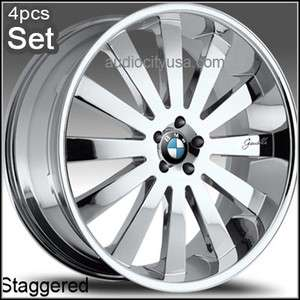 22 Giovanna for BMW Wheels 6 7series645 745 M6 X5 Rims