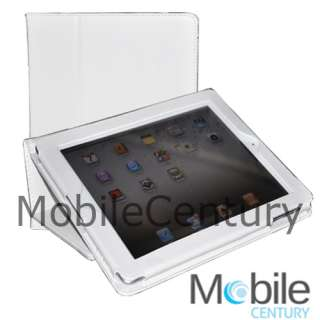Apple iPad 2 Genuine Leather Smart Cover Stand Case PNK 741360998681