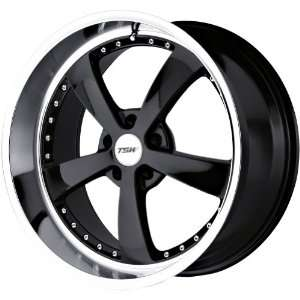 TSW Alloy Wheels Strip Gloss Black Wheel with Machined Lip