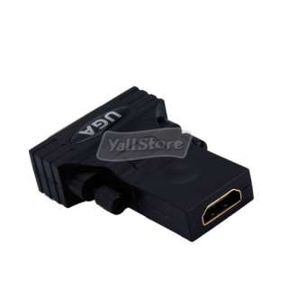 USB to DVI I Female VGA HDMI Graphic Card Adapter Converter Stereo