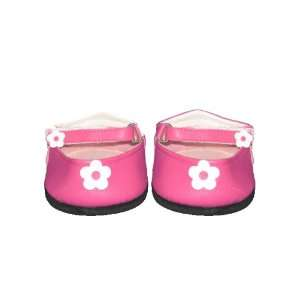 Pink Flower Sandals Teddy Bear Clothes Fit 14   18 Build