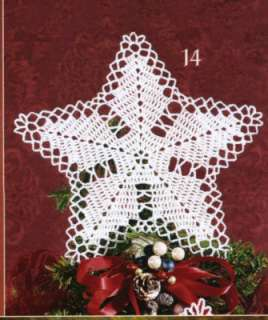 Christmas Angel Crochet Patterns Snowflakes Tree Topper