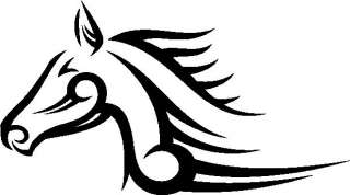 HORSE ~ mustang tribal car truck decal sticker ~