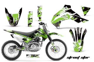 AMR RACING DIRT BIKE MOTORCROSS GRAPHIC DECO WRAP KIT KAWASAKI KLX 140