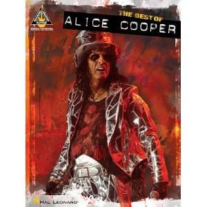Cooper (Guitar Recorded Versions) [Paperback] Alice Cooper Books