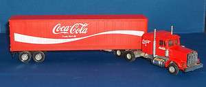Coca Cola Semi Truck Trailer