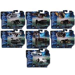 TRON Legacy Die Cast Vehicles 150 Scale Case Toys