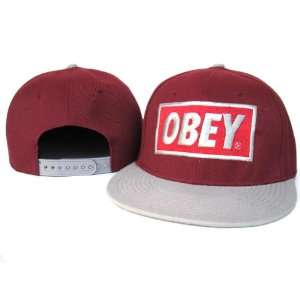Obey Snapback Hat Cap CO3