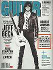 GUITAR WORLD MAGAZINE APRIL 2011 JEFF BECK ERIC CLAPTON