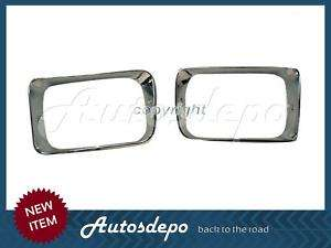92 93 DODGE D150 RAMCHARGER HEADLAMP HEADLIGHT DOOR SET