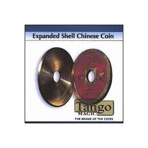 Expanded Shell Chinese Coin (Red) by Tango Toys & Games