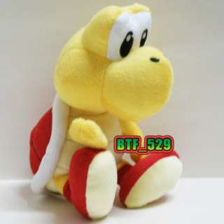 New Super Mario Brother Plush Figure ( 71/2 Red Koopa Troopa )