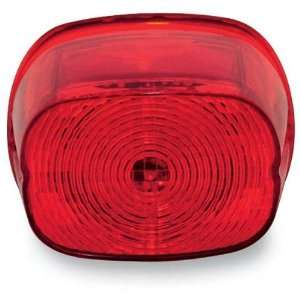 Genesis II LED Tail Light for Harley Davidson   Red Squareback No