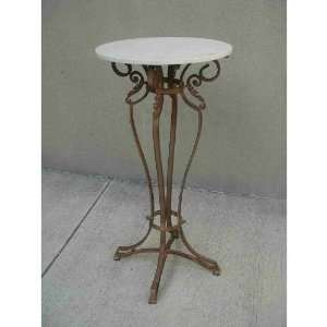 Classic Design KG3672KBN Stone Top Pub Table in Antique
