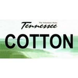 Tennessee State Background License Plates   COTTON Plate Tag Tags auto