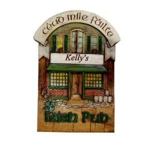 Irish pub personalized plaque