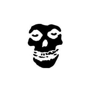 MISFITS BAND FACE 13 WHITE VINYL DECAL STICKER