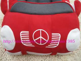 Soft and Warm Pet Dog Cat Car Bed House Sofa Bed Tote Small Black Red