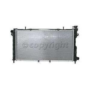 RADIATOR chrysler GRAND VOYAGER 01 03 dodge CARAVAN 01 04