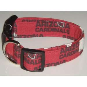 Arizona Cardinals Football Dog Collar Red X Large 1