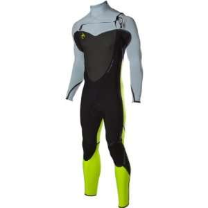 Rip Curl Flash Bomb 4/3 Full Suit   Mens Black/Silver