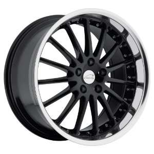 Coventry Wheels Whitley Gloss Black Wheel with Machined Lip (18x9.5