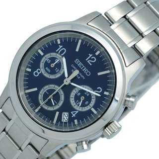 SEIKO MENS CHRONOGRAPH STEEL WATCH SSB005 NEW MODEL