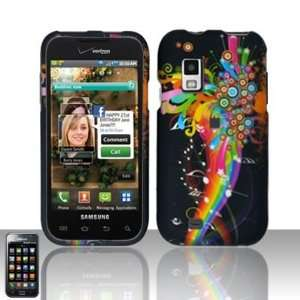 com RAINBOW MUSIC SAMSUNG FASCINATE i500 HARD CASE COVER + Mini Nano