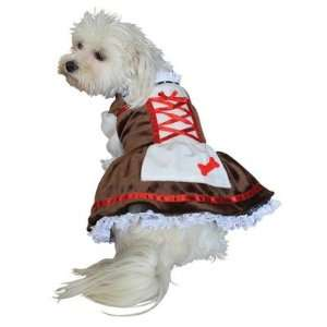 Anit Accessories AP1047 Beer Girl Dog Costume Size Small