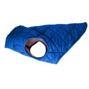American Digs Quilted Puffer Dog Coat XL Royal Blue, Fits
