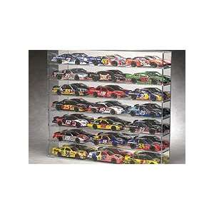 21 Diecast Car Wall Mountable Display Case w/Mirrored