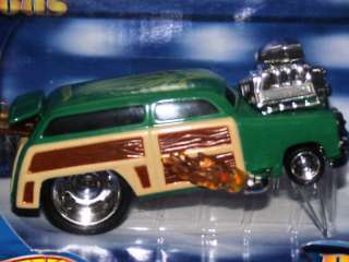 RARE Hot Wheels RAD RODS 1950 FORD WOODY NEW IN BOX