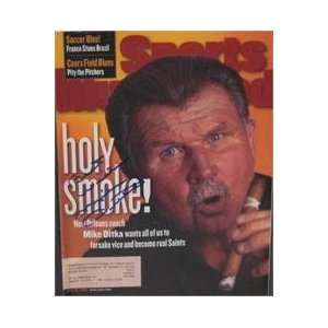 Mike Ditka autographed Sports Illustrated Magazine (New Orleans Saints