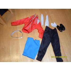 Michael Jackson Beat It Outfit for 12 in Doll. Everything